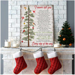 I Never Left You Every Step Of The Way Cardinal Poster Memorial Gift For Loss Of Loved Ones Poster