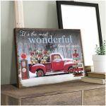 It's the most wonderful time of the year Christmas Labrador retriever poster gift for Labrador retriever lovers christmas Lovers Poster
