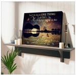 Love Canvas I do know where you go is where I want to be Wall Art Decor poster canvas best gift for him for her Poster