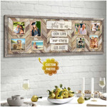 Personalized This Is Us our life our story our home poster canvas best gift with custom photo and text for family Poster