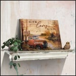 All of me loves all of you truck custom couple name poster canvas gift for couple Poster