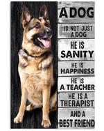 A Dgo Is Not Just A Dog Best Friend German Shepherd Poster Gift For German Shepherd Lovers German Shepherd Moms Poster