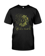 Horse Mom Daisy Flower show the love for animal t shirt best gift for horse mom Tshirt