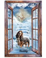 My Basset Hound Came Heaven Home With God Vertical Poster Memorial Gift For Loss Of Basset Hound Poster