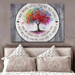 My Mind Still Talks To You Dragonflies Poster memorial gift for loss of loved someone Poster
