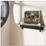 What if I fall but my darling what if you fly Horse motivational poster gift for horses Lovers Poster