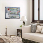 Having someone to go is home having someone to love is family poster canvas gift for family Poster