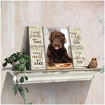 Personalized every snack you make I will be watching you poster canvas best gift with custom photo for dog lovers Poster