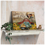 Personalized You And Me We Got This farmhouse poster canvas best gift with custom photo for husband for wife Poster