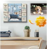 Drop It Like It Is Hot Wash Your Hand Dogs Bathroom Poster custom gift for Dogs Lovers Dogs Moms Poster