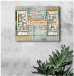 Bathroom Soap Chill Indulge Spalash Soak Decor Canvas Poster Gift For Bathrooms Lovers Poster