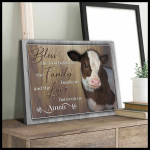 Bless the food before us the family beside is and the love between us amen poster canvas gift for god lovers Poster