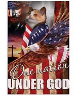 One Nation Under God Munchkin Vertical Poster Gift For Munchkin Lovers Munchkin Moms Poster