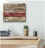 Today I close the door start a new chapter in my life white dandelion & butterfly wood poster canvas gift for self motication Poster