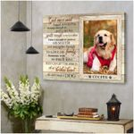 Personalized God once said i need someone strong enough poster canvas best gift with custom photo and text for dog lovers Poster