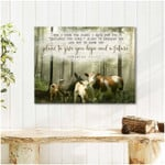 In the forest and Cattle Cows For I know the plans I have for you Farmhouse poster canvas best gift for farmer Poster