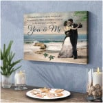 in the sun refused to shine i would still You and Me Romantic Couple Wall Art Decor poster canvas best gift for husband for wife Poster