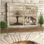 You & Me We Got This Horses By Window Poster gift for Horses Lovers Wedding Anniversary Poster
