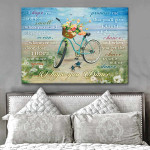 I Hope You Dance I Hope One More Opens Promise Me Bicycle Beach Motivational Poster Gift For God Believers Poster