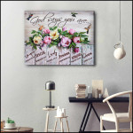 God Says You Are Unique Special Lovely Precious Hummingbird Poster Gift For Hippie Girls Poster