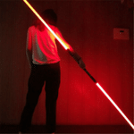 AU - Light Up 2-in-1 With 7 Color Changing LED Light Up FX Dual Saber Sound (2 Piece)