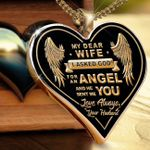 Angel Wife Necklace Gift
