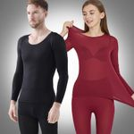 Seamless Elastic Thermal Inner Wear - A