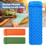 🔥 Ultralight Camping Sleeping Pad With Pillow