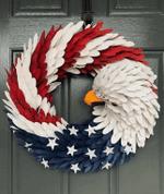 American Eagle Wreath
