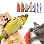 3D Fish Plush Cat Pet Toy