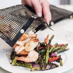 Reusable Non-Stick BBQ Mesh Grill Bag