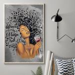 African American Lose Your Mind Find Your Soul Vertical Poster