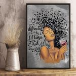 🍀 African American Lose Your Mind Find Your Soul Vertical Poster
