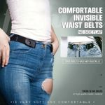 🔥 Buckle-free Invisible Elastic Waist Belts