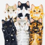 ✅Long Cat-Shaped towel