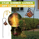 Star Shower Garden Art Light Decoration