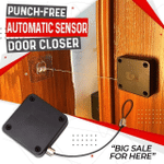 Punch-Free Automatic Sensor Door Closer 🔥 50% OFF - LIMITED TIME ONLY 🔥