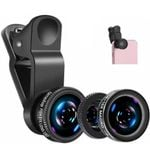 3 In 1 Phone Lens Kit For Smartphones - A