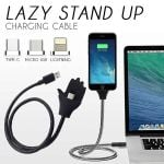 ✨Lazy Stand Up Charging Cable
