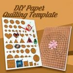 🔥DIY Paper Quilling Template