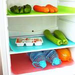 4 Pcs Antibacterial Refrigerator Pads