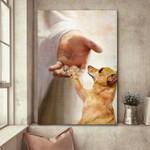 Chihuahua - Take my hand Canvas