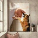 German Shepherd - Take my hand Poster