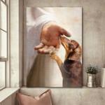 Dachshund - Take my hand Poster