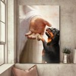 Rottweiler - Take my hand Poster