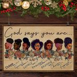 GOD SAYS YOU ARE - HORIZONTAL CANVAS