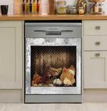 Rooster Chicken Decor Kitchen Dishwasher Cover 3