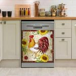 Rooster Chicken Decor Kitchen Dishwasher Cover 6
