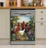 🐔Funny Chicken Farm Art