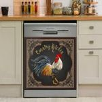 🐔Funny Rooster Chicken Decor Kitchen Dishwasher Cover 7